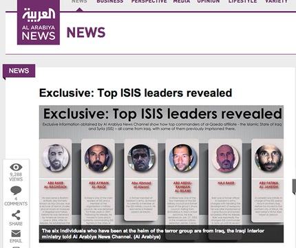 identidades líderes ISIL